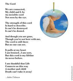 The cord (when you lose a child)
