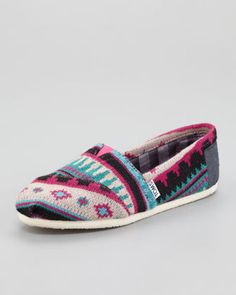 ShopStyle: TOMS Tamin Printed Slip-On