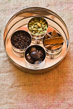 Ingredients for biriyani masala