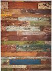 Rice Paper for Decoupage Scrapbook Craft Sheet Old Fence