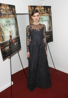 See Keira Knightley's Best Red Carpet Moments (Thus Far). @Valentino #fashion #dress