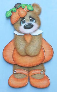 """My Li'l Pumpkin"" - created using the Tear Teddy and Freebie Costume"