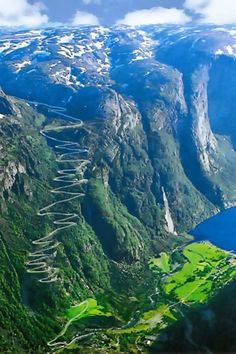 Lysefjord is a fjord located in Forsand in Ryfylke in south-western Norway