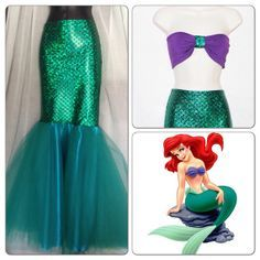 mermaid costume tails - Google Search