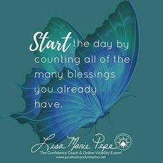 Hello Beautiful Souls and Happy #SimpleReminderSaturday! If you ever doubt just how precious you are, take a deep breath, sit down, and count all of the blessings you've already been given. Surely, this will shift your perspective and move you into a higher vibration. - Lisa Marie Pepe #TheConfidenceCoach & #OnlineVisibilityExpert for #HeartCentered #WomenEntrepreneurs