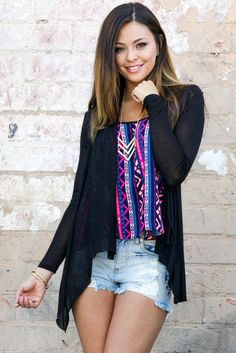 SUPER SOFT & LIGHT SUMMER CARDIGAN - BLACK  This is the perfect summer cardigan! It's extremely soft & light material, banded back, and open front creates a snug and cozy fit for any breezy summer night.  #summer #cardigan #softandlight #soft #lightcardigan #lightweightcardigan #blackcardigan #black #streetstyle #ootd #outfit #looks #bestlook #fashion #style #trendy #obsezzfashion #obsezz