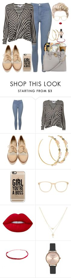 """""""m.o.m #19"""" by princeps-1 ❤ liked on Polyvore featuring Topshop, 10 Crosby Derek Lam, Ippolita, Casetify, Matthew Williamson, Lime Crime, Betsey Johnson and Olivia Burton"""