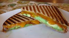 Thanks to pinterest I have been introduced to avocado grilled cheese!!!  Heres what I used...whole wheat bread, colby cheese, avocado and turkey pepperoni.  Its safe to say this is my new favorite sandwich.  Next time I think I'll add tomato...or spinich...