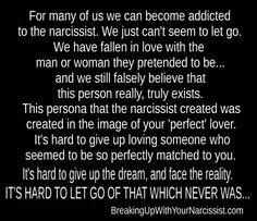 The narcissists mirror...