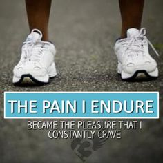 The pain I endure became the pleasure that I constantly crave.
