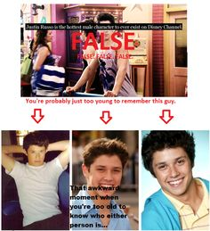 Yes while David henrie (Justin) is oober hot, Ricky Ullman (Phil) has him beat :) I miss good Disney channel shows