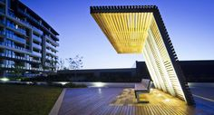 Tooronga Village, podium / mdg landscape architects