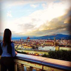 Rosalie Pedini's Blog Post on Florence!