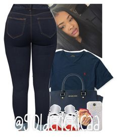 """Run me my money "" by g0ldenchicaa ❤ liked on Polyvore featuring Ralph Lauren, Michael Kors and Retrò"