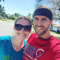 Staring our #weekend #runs again!!! Felt amazing and it's such a #beautiful day out today. Definitely need to keep this up to get ready for our next two 5ks. #weekendwarriors #workoutmotivation #workout #runningman #gettinnghealthy #healthyliving