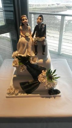 Cake topper only done by Elliot Laing