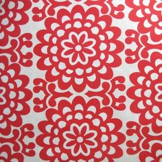 Amy Butler Lotus Wall Flower in Cherry- 2 yards $16.50