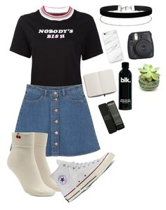 """#19"" by valeriapatriciamosquera on Polyvore featuring UNIF, Monki, Forever 21, Converse, Miss Selfridge and Shinola"
