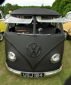 Matte Black. This looks like it'd be a fun ride to a beach picnic on the English countryside.