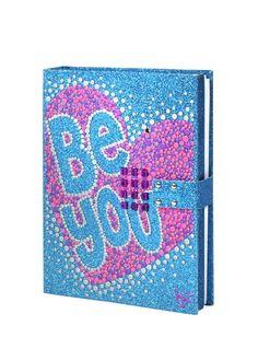 Be You Glitter Passcode Glitter Journal | Girls Journals & Writing Beauty, Room & Toys | Shop Justice
