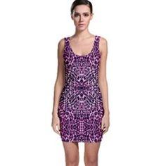 Animal Print Bodycon Dress by OCDesignss