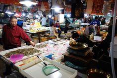 Markets in Dalian, China