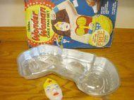 Wilton Wonder Woman Character Cake Pan Complete 1978 #2