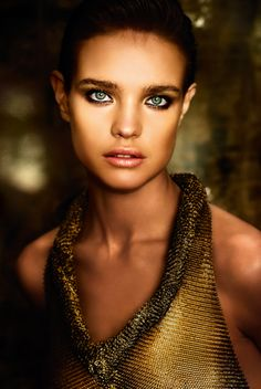 Supermodel Natalia Vodianova love the makeup and eyes