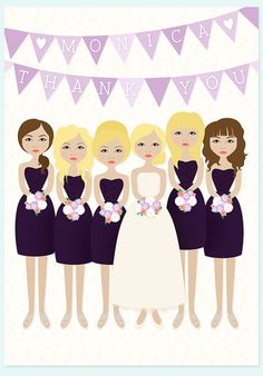 Bridesmaid Cartoon