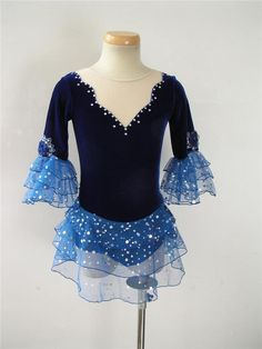 Nice custom Figure skating Competition dress 5118-1