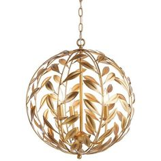 Pottery Barn Lacy Pendant ($199) ❤ liked on Polyvore featuring home, lighting, ceiling lights, pottery barn lamps, pottery barn hanging lights, pottery barn lighting, pottery barn ceiling lights and pottery barn