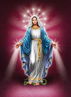 Our Blessed Mother Mother Mary Images, Mother Pictures, Images Of Mary, Jesus Mother, Blessed Mother Mary, Blessed Virgin Mary, Miséricorde Divine, Divine Mother, Pictures Of Jesus Christ