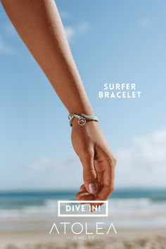 Looking for a bracelet that's sure to make a splash? Then check out our new Surfer Bracelet. Match it back to your other favorite waterproof bracelet, and you'll be totally set for summer!