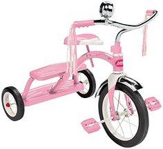 Kids' Tricycles - Radio Flyer Girls Classic Dual Deck Tricycle Pink -- Want to know more, click on the image.