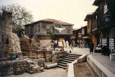 Das Städtchen Nesebar (Mesembria) (Bulgarien, Bulgaria, Balgarija, Bulgarie)