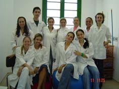 Estágio em Saúde do Trabalhador na Santa Casa em 2007/1. Foto do prof. Tiago Kiefer.