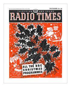 The charming Christmas themed cover of Radio Times magazine, December 1959 Christmas Note, Christmas Program, Christmas Past, Retro Christmas, Vintage Christmas Images, Vintage Holiday, Vintage Magazines, Vintage Books, Vintage Ephemera