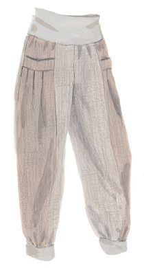 Secret Linen Pants: Heathered Grey and Taupe