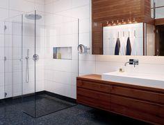 Arkitektritat badrum - INR