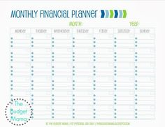 Do you plan out your finances? Do you use a budget? How do you track your expenses and your income? One of the ways that we plan our finances for the month is by using a calendar. You can download this financial planner free!