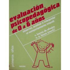 Evaluación psicopedagógica de 0 a 6 años. 12,50€