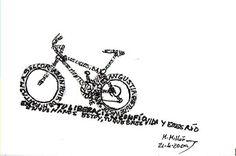 CALIGRAMAS: BICICLETA DE MONTAÑA