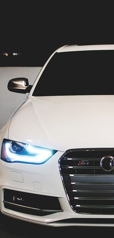 Audi. My fav color for any vehicle is either black on black or white in black. Of course, having a straight shift is a must.