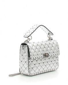 95294f97729a Valentino Garavani Rockstud Spike Metallic Medium Shoulder Bag  Valentino