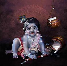 New Krishna, Baby Krishna, Radha Krishna Love, Radhe Krishna, Sai Baba Wallpapers, Lord Krishna Wallpapers, Little Krishna, Ganesha Pictures, Lord Murugan