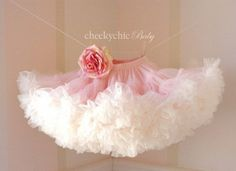 BLOOMING PETTISKIRT by Cheeky Chic Baby Vintage by cheekychicbaby