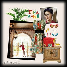 """Frida Kahlo"" by athenasmuse on Polyvore"