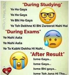It's really my exam story.. tayari karte waqt sab yaad rehta hai but exam dete waqt Aisa lagta hai ki ye question toh tha hi nahi