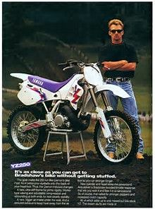 I decided that after four years back in moto, I would give the two stroke one season to win me back over. Vintage Bikes, Vintage Motorcycles, Mx Racing, Beast From The East, Off Road Bikes, Motocross Bikes, Old Bikes, Dirtbikes, Yamaha