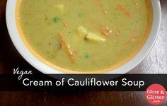 Curried Cream of Cauliflower Soup Recipe